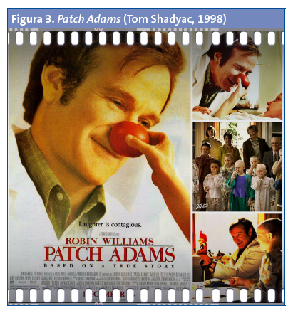 Figura 3. Patch Adams (Tom Shadyac, 1998)